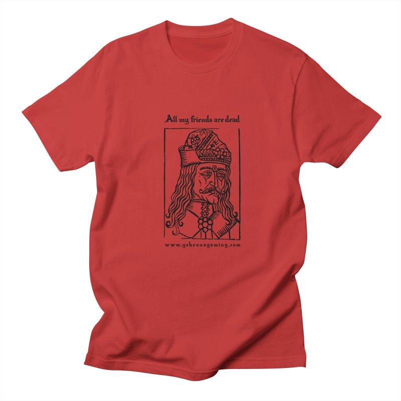All My Friends Are Dead Men's Regular T-Shirt by GehennaGaming's Artist Shop