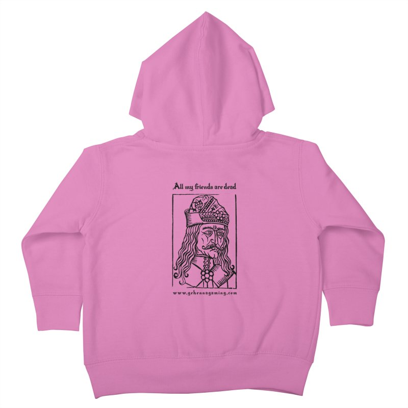All My Friends Are Dead Kids Toddler Zip-Up Hoody by GehennaGaming's Artist Shop