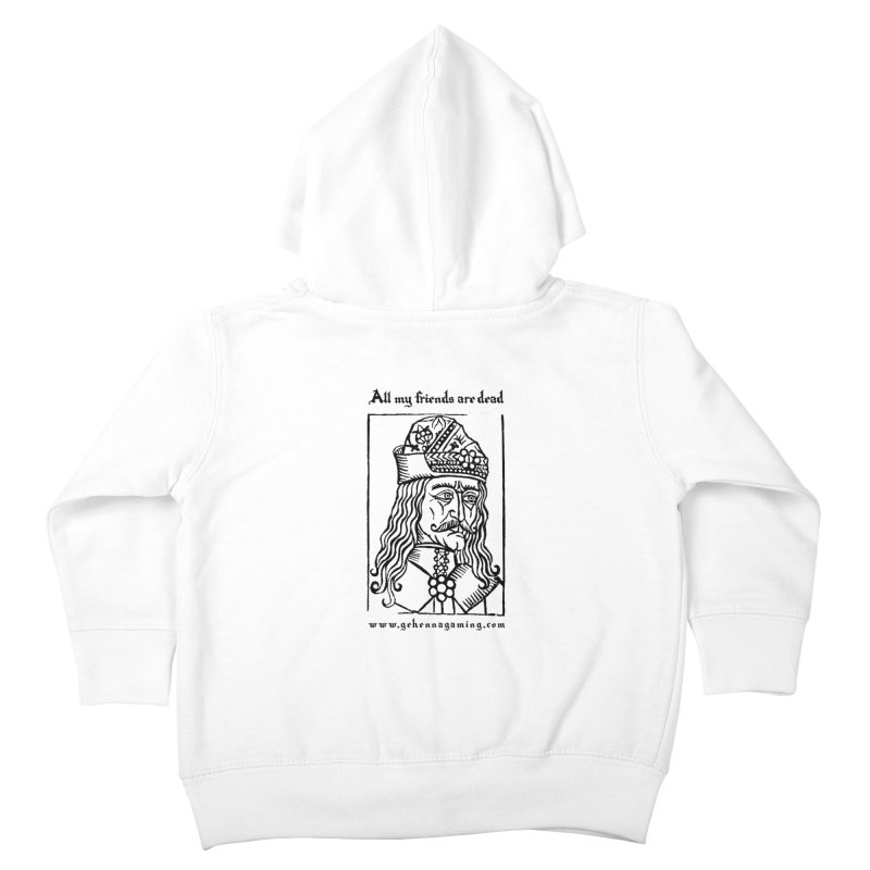 All My Friends Are Dead Kids Toddler Zip-Up Hoody by The Gehenna Gaming Shop