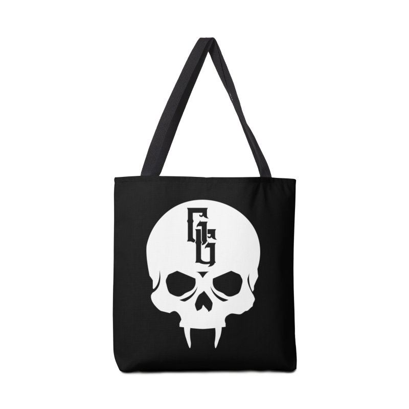 Gehenna Gaming Skull Logo (No Text - Goth Version) Accessories Tote Bag Bag by GehennaGaming's Artist Shop