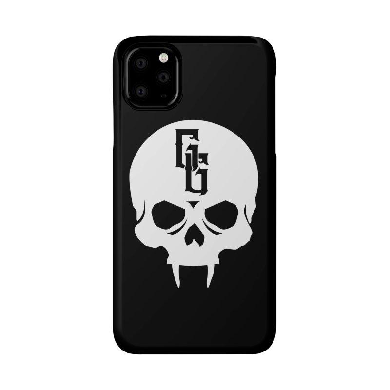 Gehenna Gaming Skull Logo (No Text - Goth Version) Accessories Phone Case by The Gehenna Gaming Shop