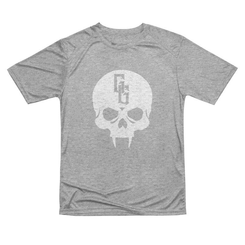 Gehenna Gaming Skull Logo (No Text - Goth Version) Men's Performance T-Shirt by GehennaGaming's Artist Shop