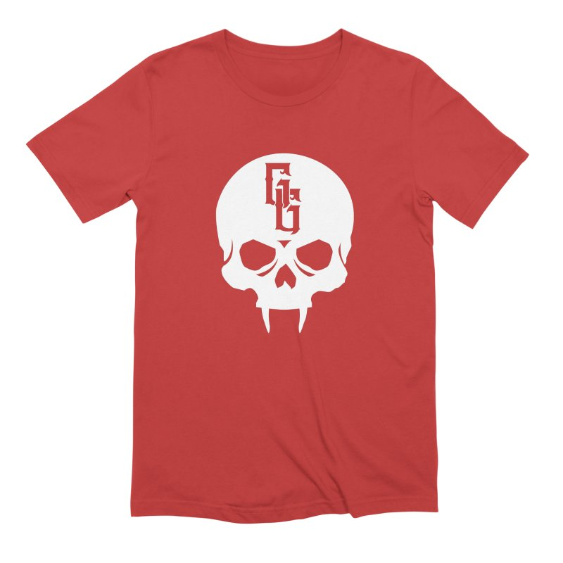 Gehenna Gaming Skull Logo (No Text - Goth Version) Men's Extra Soft T-Shirt by GehennaGaming's Artist Shop