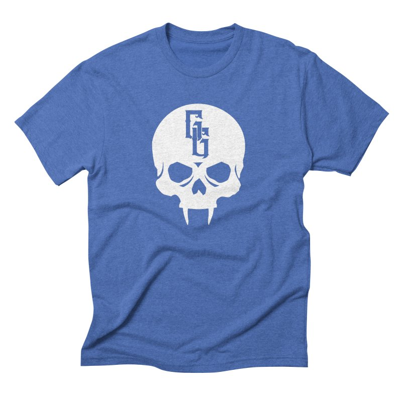 Gehenna Gaming Skull Logo (No Text - Goth Version) Men's T-Shirt by GehennaGaming's Artist Shop