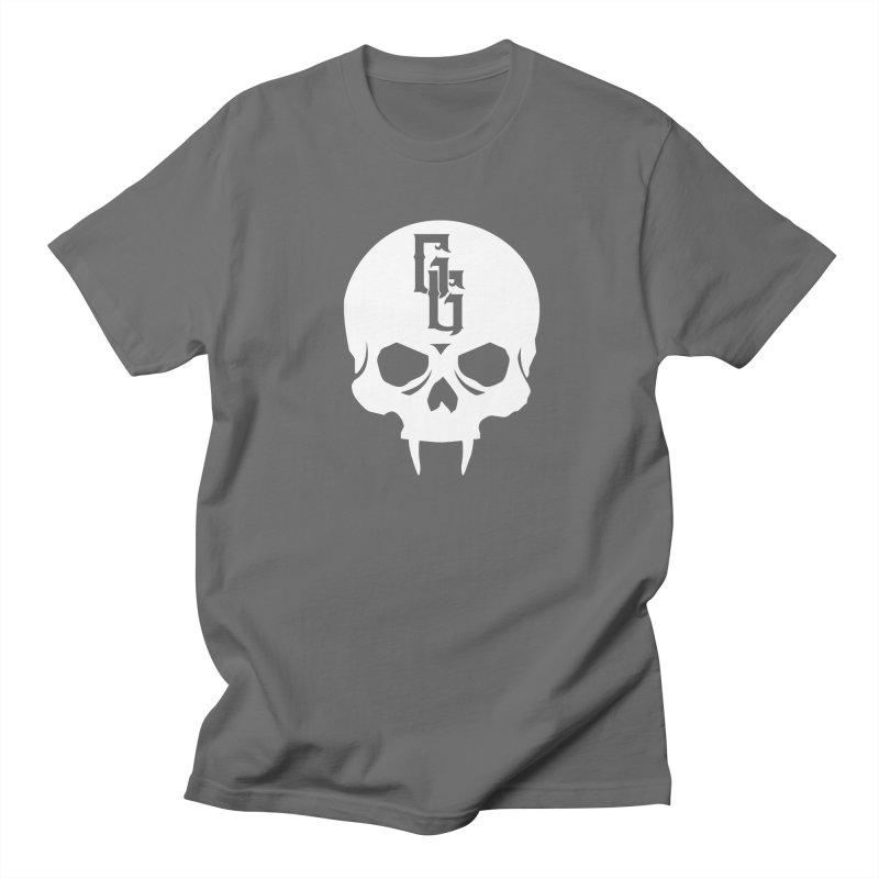 Gehenna Gaming Skull Logo (No Text - Goth Version) Men's T-Shirt by The Gehenna Gaming Shop