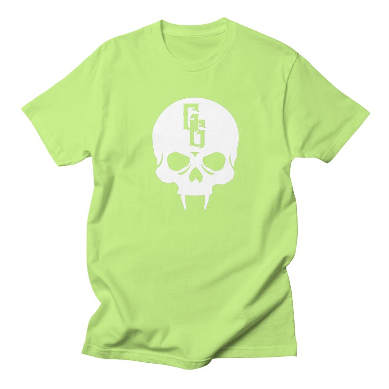 Gehenna Gaming Skull Logo (No Text - Goth Version) Men's Regular T-Shirt by GehennaGaming's Artist Shop