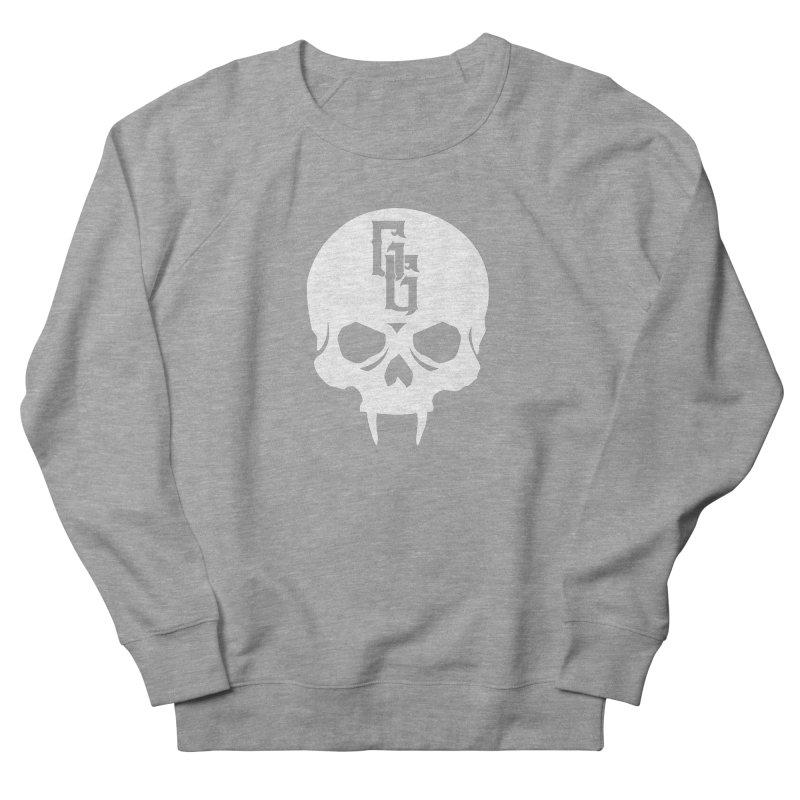 Gehenna Gaming Skull Logo (No Text - Goth Version) Women's French Terry Sweatshirt by GehennaGaming's Artist Shop