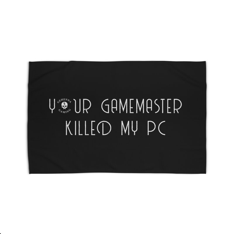 Your GM Killed My PC Home Rug by The Gehenna Gaming Shop