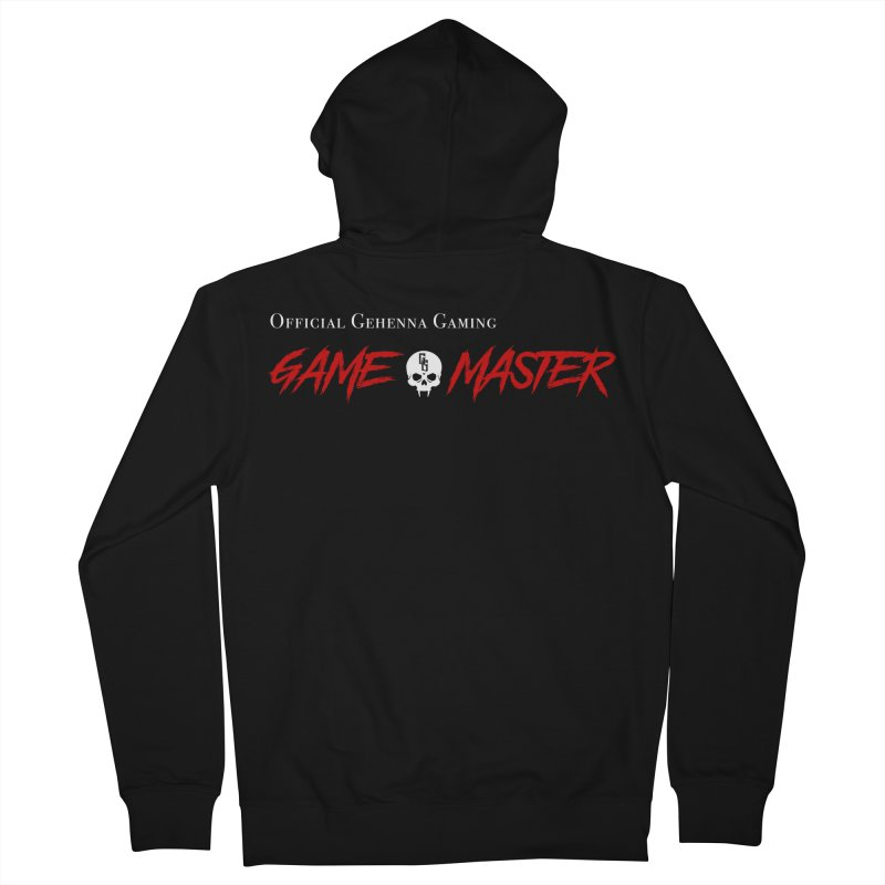GG GAME MASTER Men's French Terry Zip-Up Hoody by GehennaGaming's Artist Shop