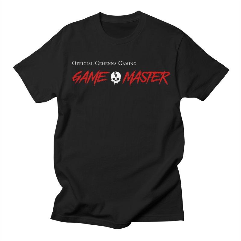 GG GAME MASTER Men's Regular T-Shirt by GehennaGaming's Artist Shop