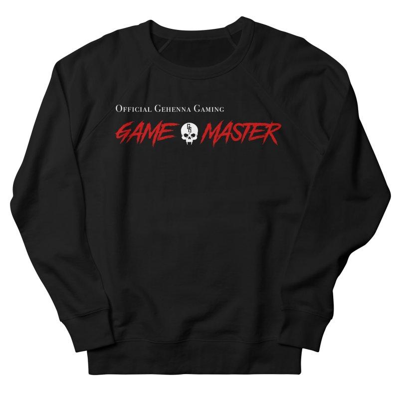 GG GAME MASTER Men's French Terry Sweatshirt by GehennaGaming's Artist Shop