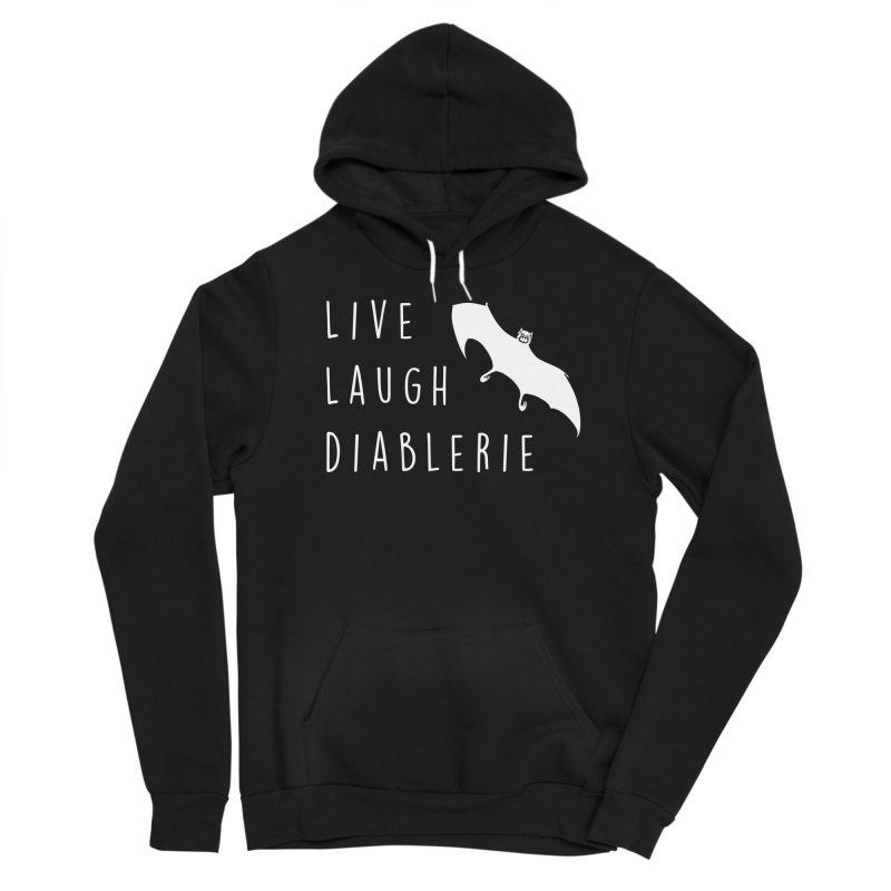 Live, Laugh, Diablerie (Goth) Women's Sponge Fleece Pullover Hoody by The Gehenna Gaming Shop