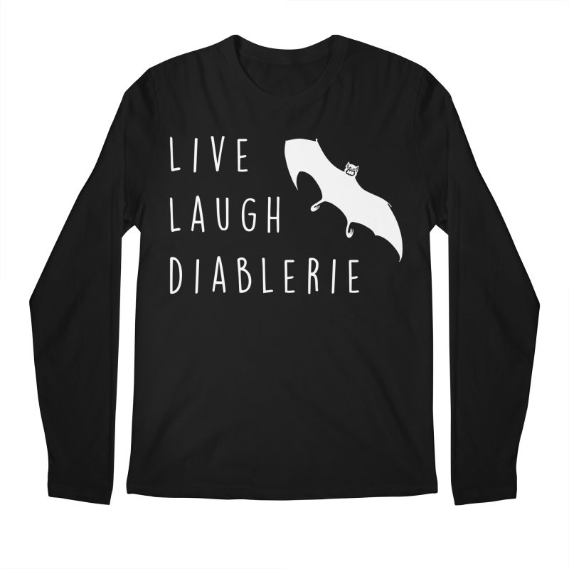 Live, Laugh, Diablerie (Goth) Men's Longsleeve T-Shirt by The Gehenna Gaming Shop