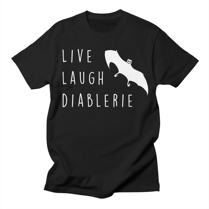 Live, Laugh, Diablerie (Goth) Men's Regular T-Shirt by The Gehenna Gaming Shop