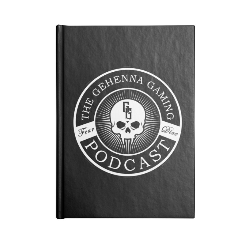 Gehenna Gaming Podcast Accessories Notebook by The Gehenna Gaming Shop