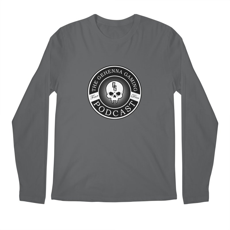 Gehenna Gaming Podcast Men's Longsleeve T-Shirt by The Gehenna Gaming Shop