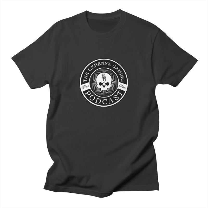 Gehenna Gaming Podcast Men's T-Shirt by The Gehenna Gaming Shop