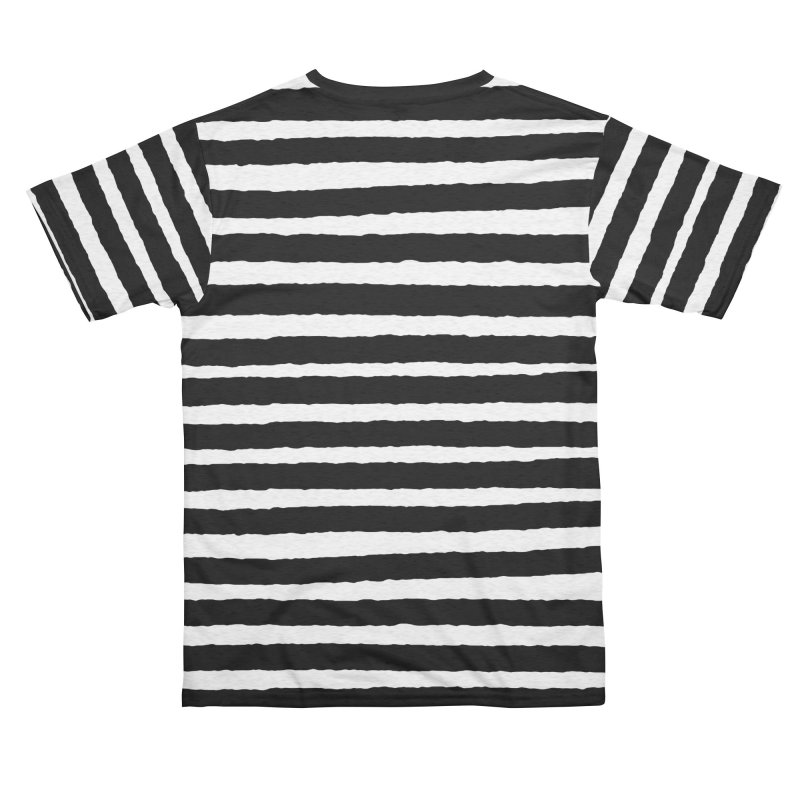 Dead Coffin Stripes Men's Cut & Sew by The Gehenna Gaming Shop