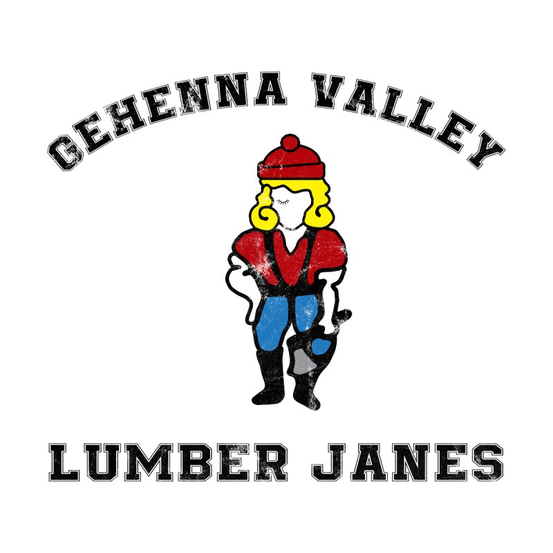 Gehenna Valley Lumber Janes Women's Zip-Up Hoody by The Gehenna Gaming Shop