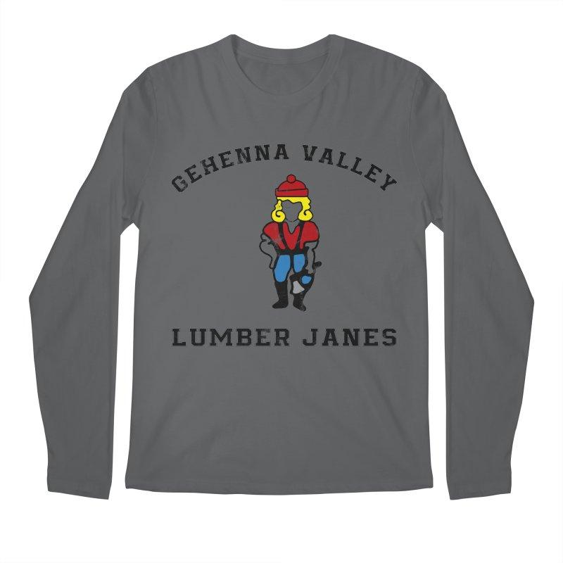 Gehenna Valley Lumber Janes Men's Longsleeve T-Shirt by The Gehenna Gaming Shop