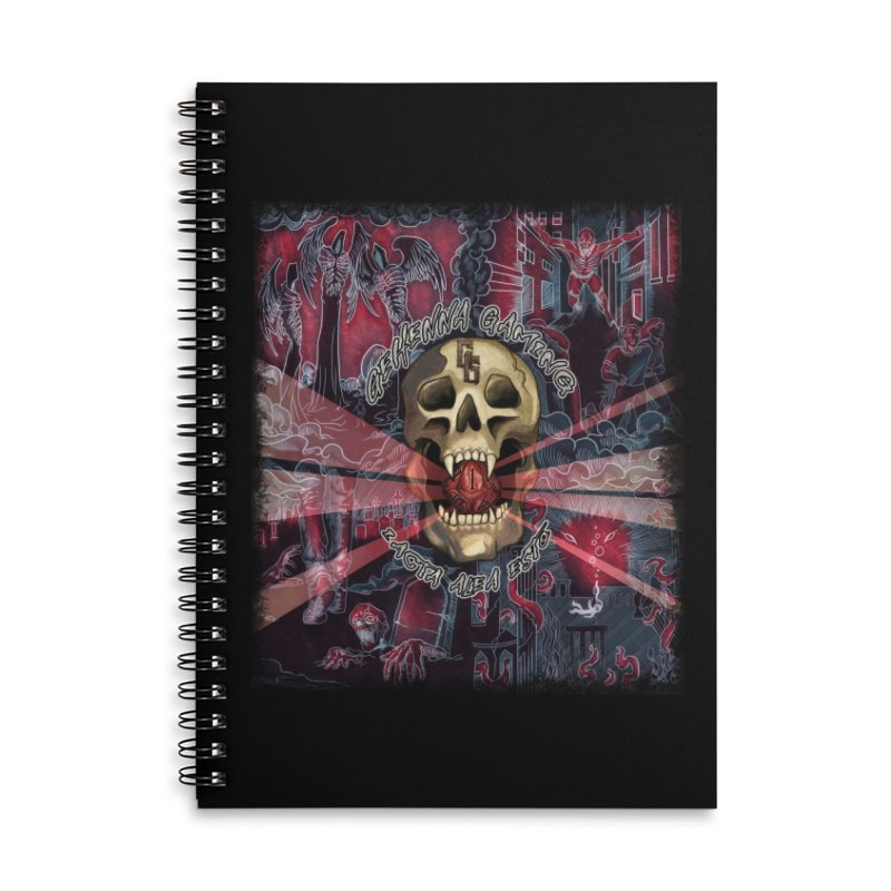 The Die Has Been Cast Accessories Notebook by The Gehenna Gaming Shop