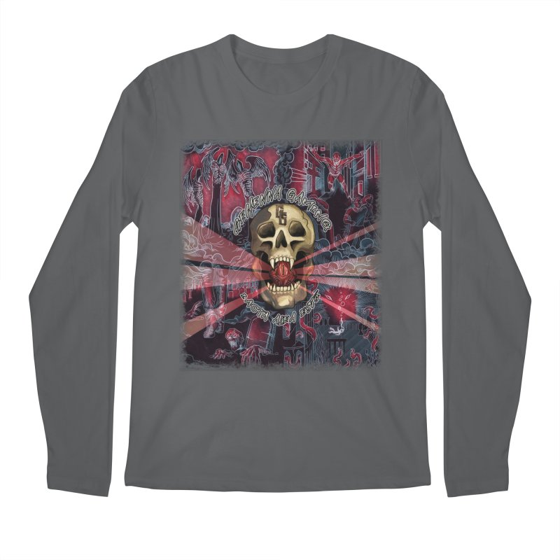 The Die Has Been Cast Men's Longsleeve T-Shirt by The Gehenna Gaming Shop
