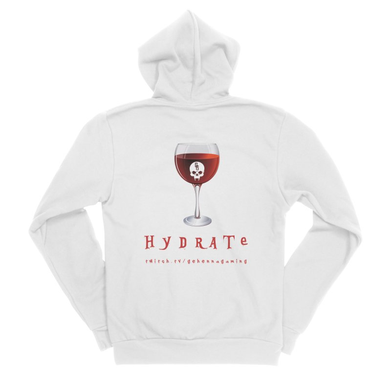 Hydrate Women's Zip-Up Hoody by The Gehenna Gaming Shop
