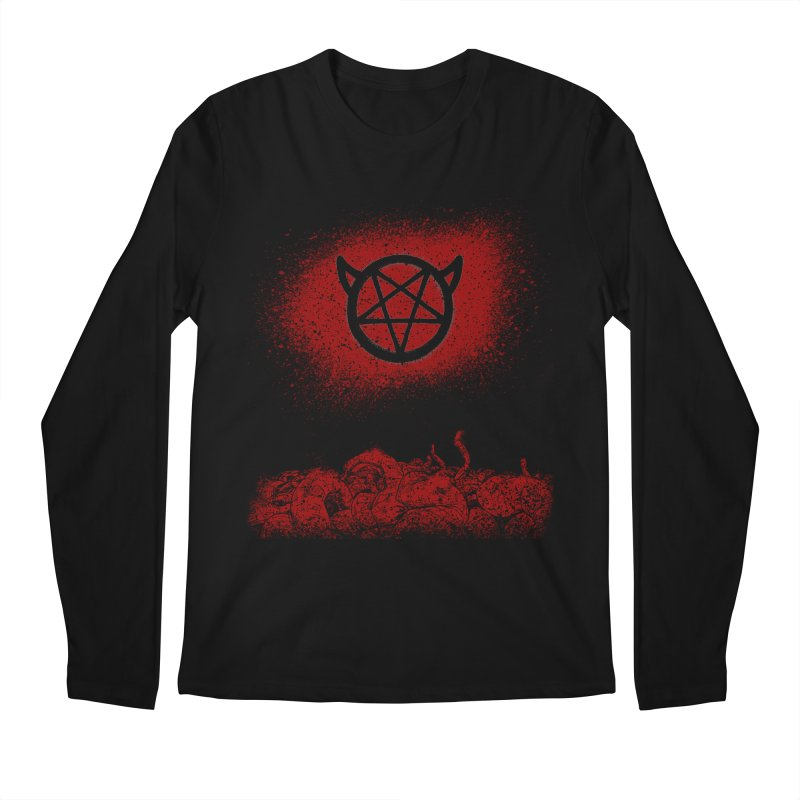 Undead Faction Series: The Infernal Men's Longsleeve T-Shirt by The Gehenna Gaming Shop