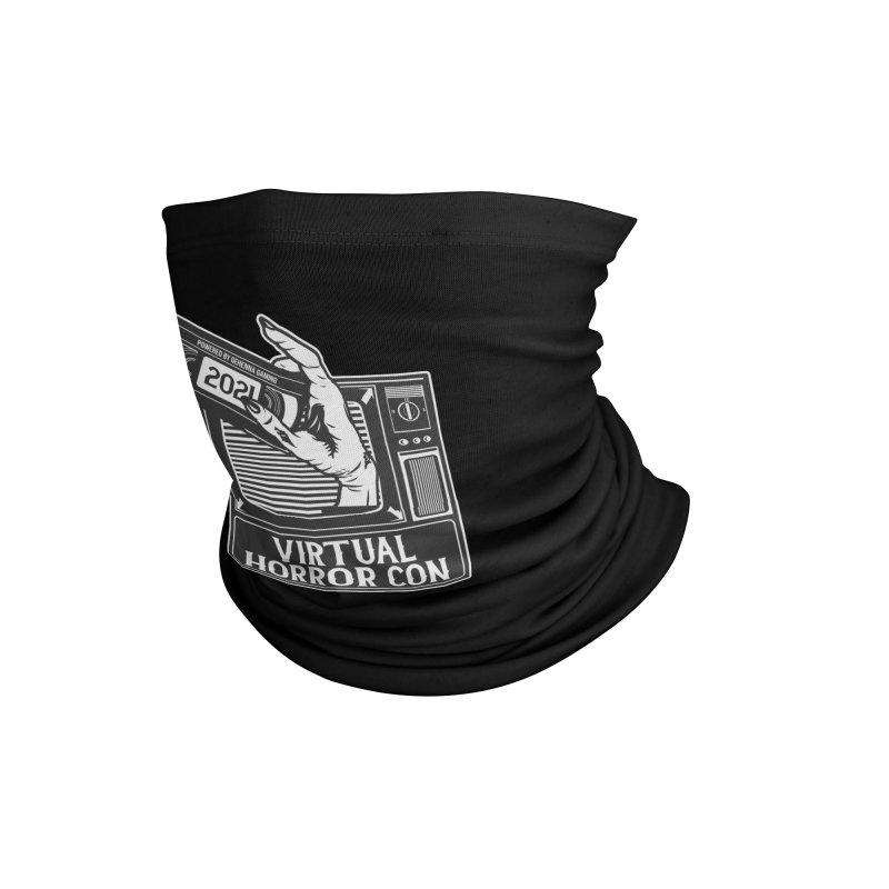 Virtual Horror Con 2021 Logo Accessories Neck Gaiter by The Gehenna Gaming Shop