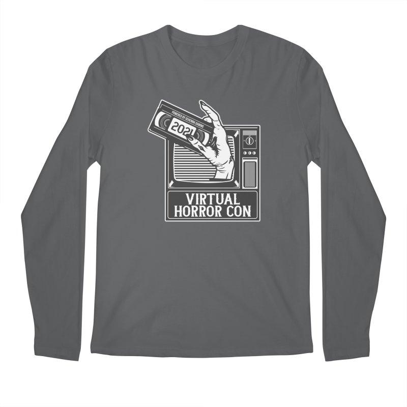 Virtual Horror Con 2021 Logo Men's Longsleeve T-Shirt by The Gehenna Gaming Shop