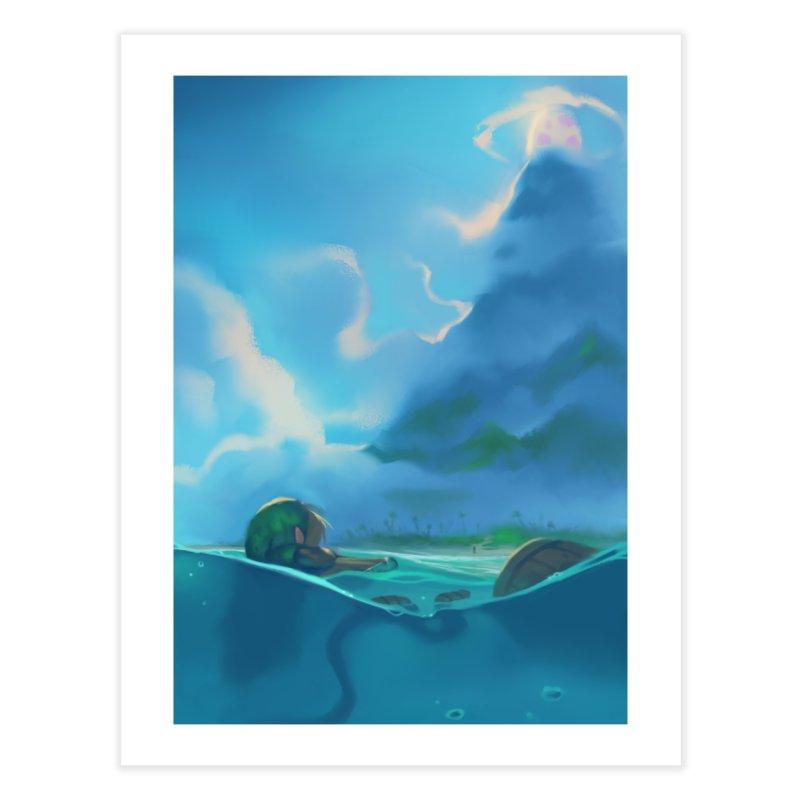 The Legend of Zelda: Link's Awakening - Koholint Island Home Fine Art Print by Shiba Shop
