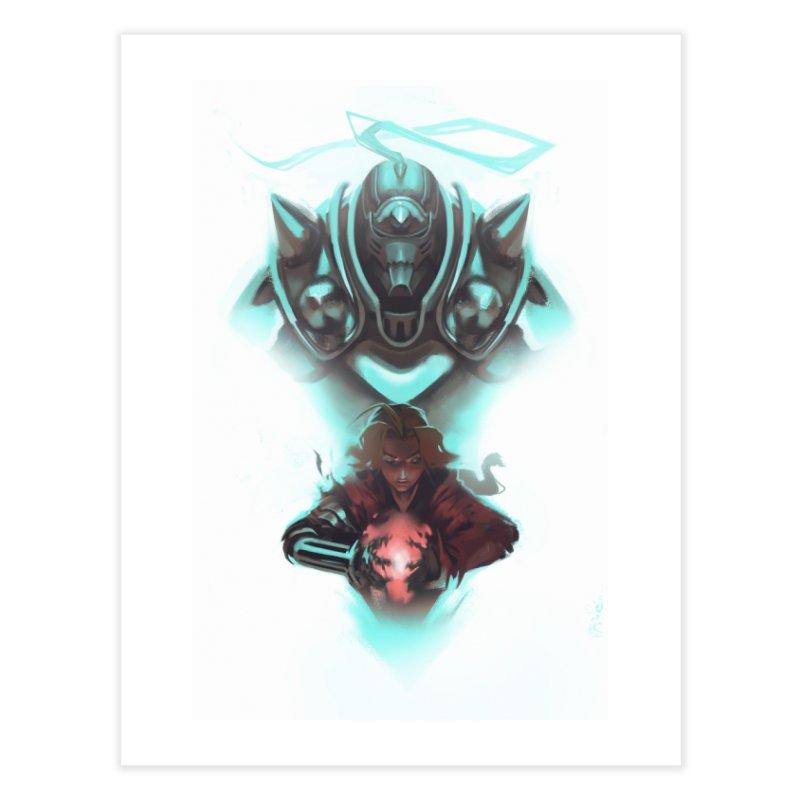 Fullmetal Alchemist Home Fine Art Print by Shiba Shop