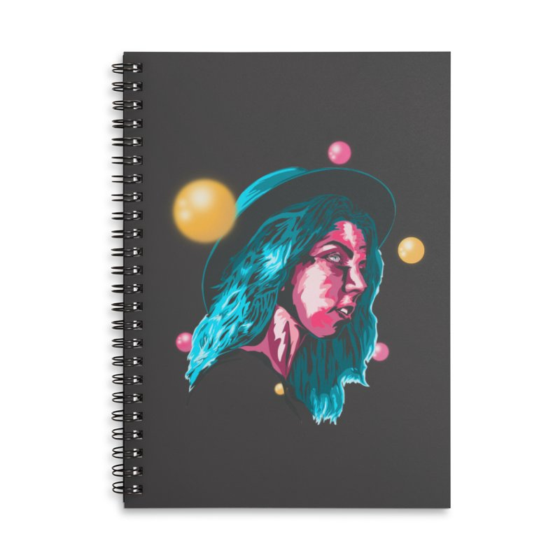 Your Reality Accessories Lined Spiral Notebook by Gentlemen Tees