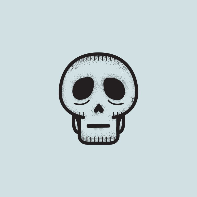 Hollow Skull Accessories Notebook by Gentlemen Tees
