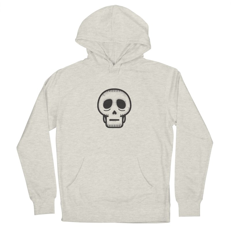 Hollow Skull Men's French Terry Pullover Hoody by Gentlemen Tees