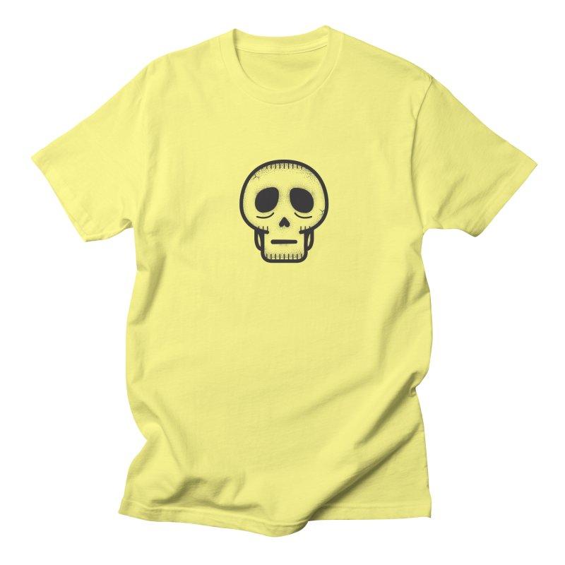 Hollow Skull Women's Regular Unisex T-Shirt by Gentlemen Tees
