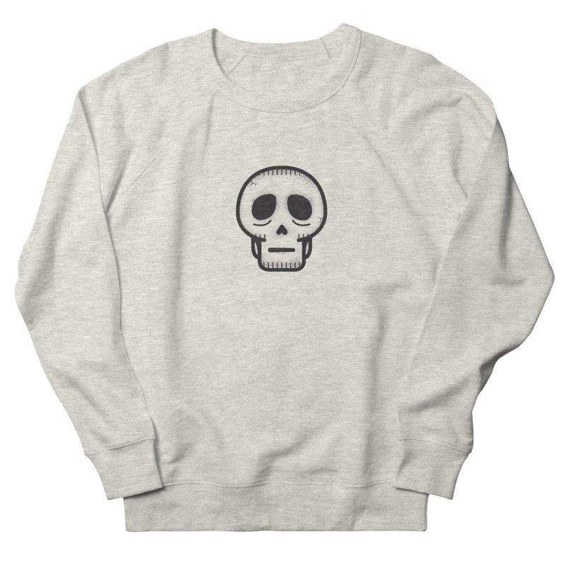 Hollow Skull Women's French Terry Sweatshirt by Gentlemen Tees