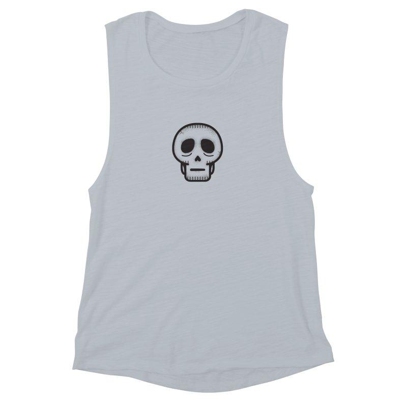 Hollow Skull Women's Muscle Tank by Gentlemen Tees