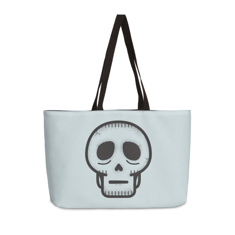 Hollow Skull Accessories Weekender Bag Bag by Gentlemen Tees