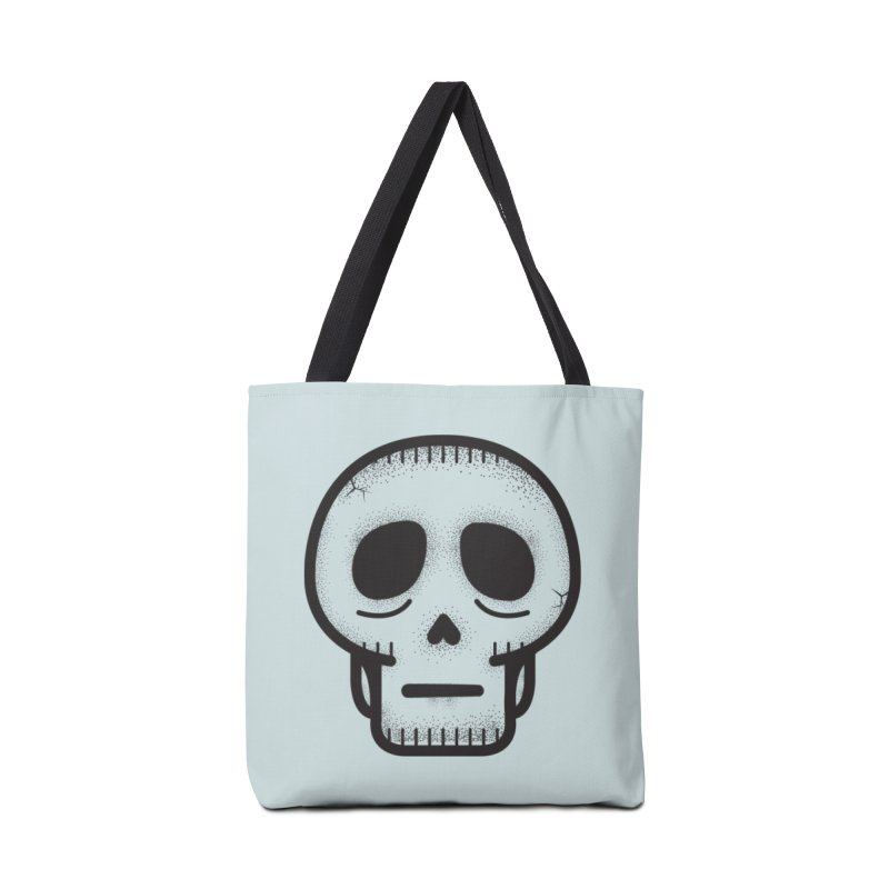 Hollow Skull Accessories Tote Bag Bag by Gentlemen Tees