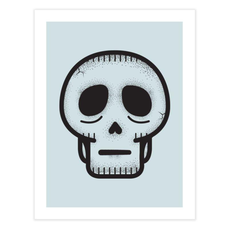 Hollow Skull Home Fine Art Print by Gentlemen Tees