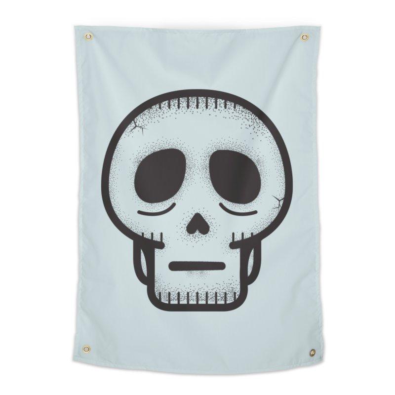 Hollow Skull Home Tapestry by Gentlemen Tees
