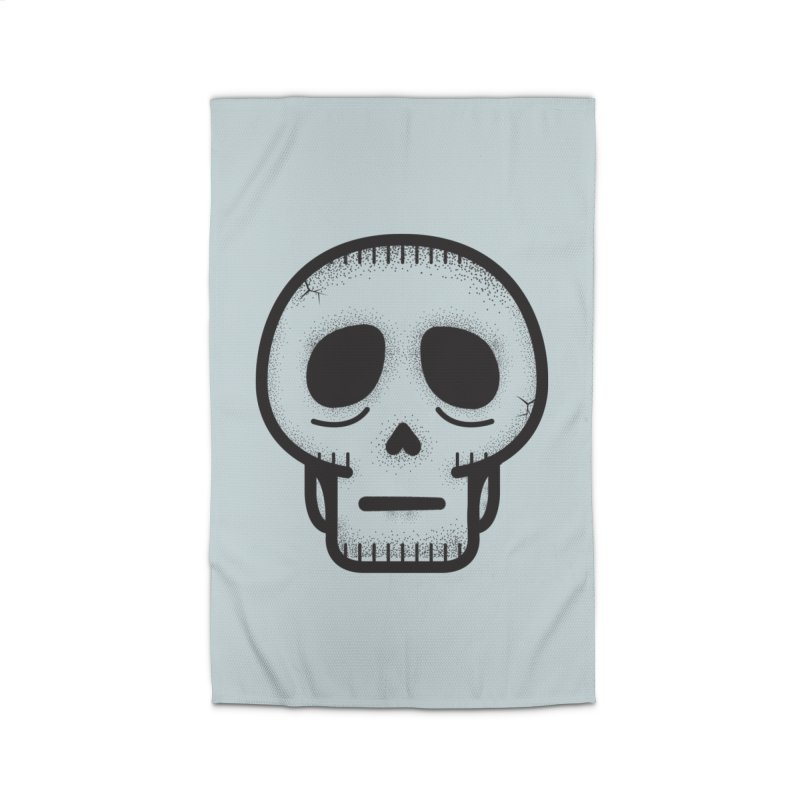 Hollow Skull Home Rug by Gentlemen Tees