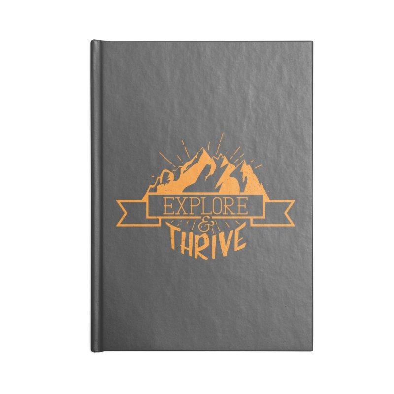 Explore & Thrive Accessories Blank Journal Notebook by Gentlemen Tees