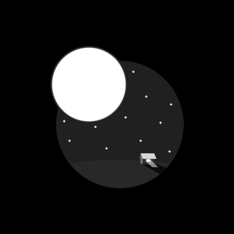 Full Moon by Gentlemen Tees