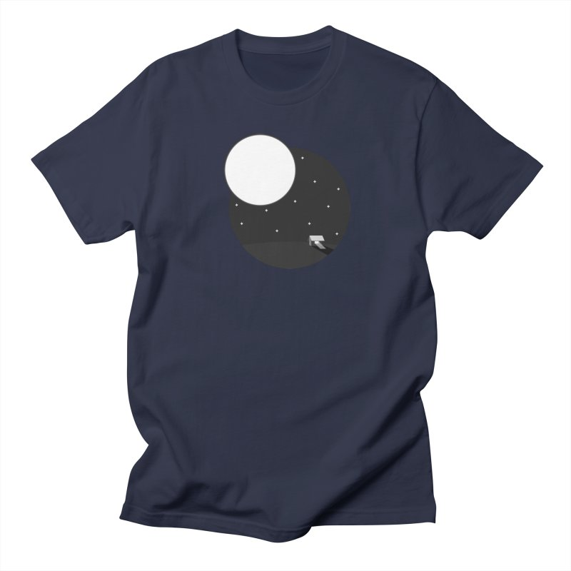 Full Moon Men's Regular T-Shirt by Gentlemen Tees