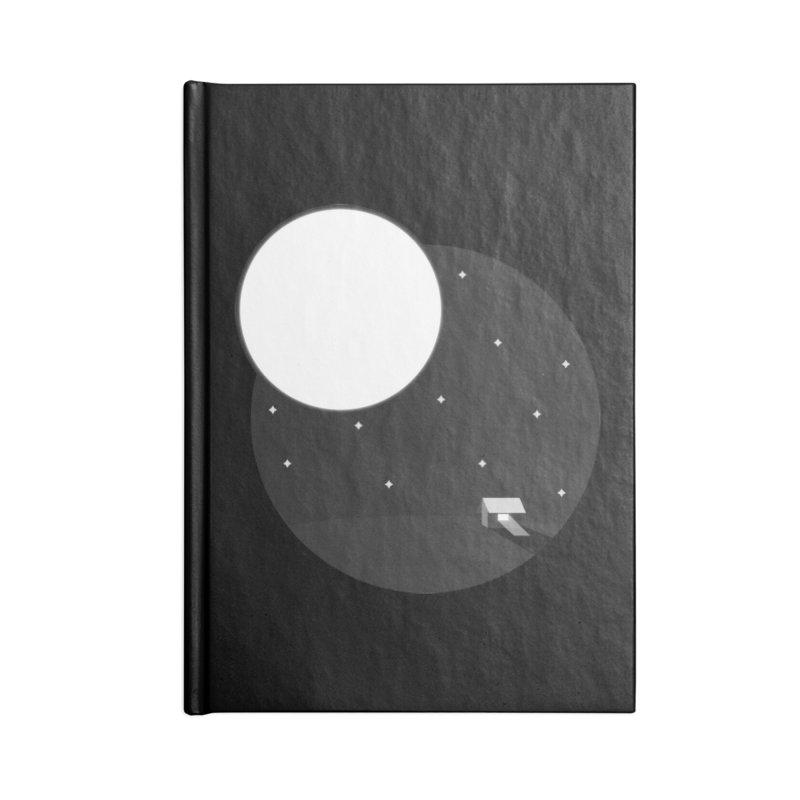Full Moon Accessories Blank Journal Notebook by Gentlemen Tees
