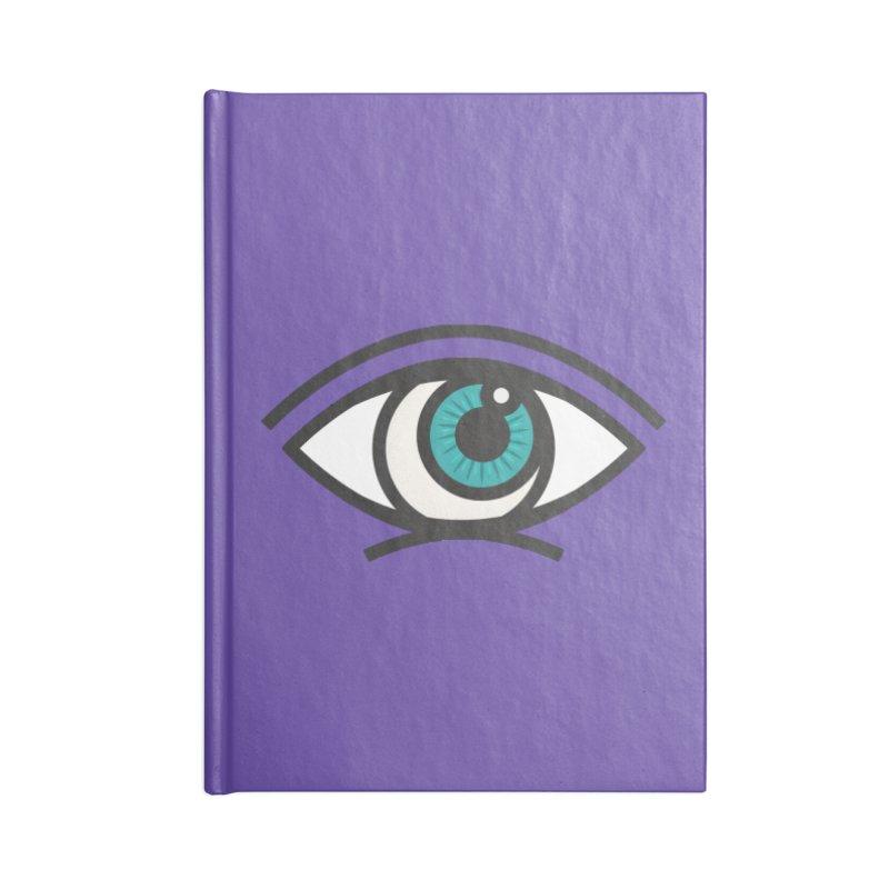 Third Eye Accessories Blank Journal Notebook by Gentlemen Tees