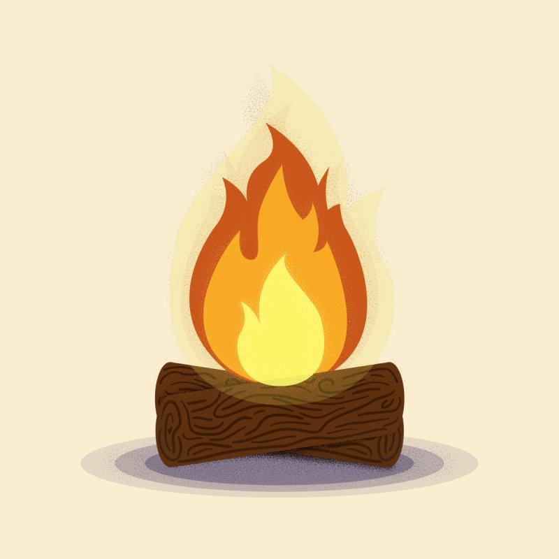 Quiet Flame by Gentlemen Tees