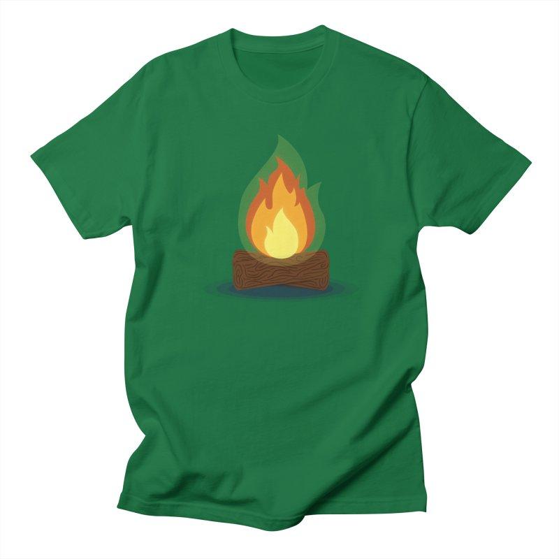 Quiet Flame Men's Regular T-Shirt by Gentlemen Tees